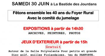 40 ans du Foyer Rural